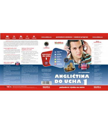 Angličtina do ucha 1. - NOVÁ - 10 audio CD + 1xCD ROM