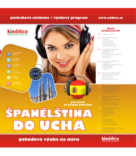Španělština do ucha - NOVÁ - CZ - MP3